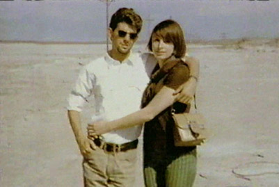 Undated photo of a young Marcia and George; from A&E Biography